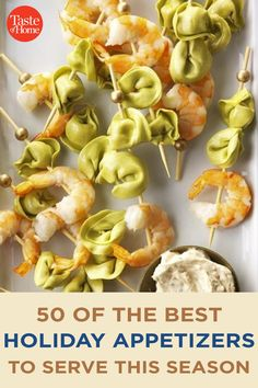 50 of the Best Holiday Appetizers to Serve This Season Best Holiday Appetizers, Holiday Fun, Holiday Recipes, Marinated Olives, Bacon Jam, Holiday Side Dishes, Crab Cakes, Antipasto, Home Recipes