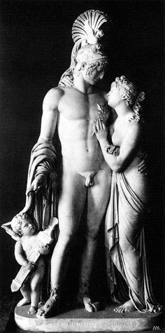 Mars, Venus and Cupid. 1808, Leopold Kiesling.