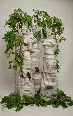 Surprise your guests with birch trees that are actual human - perfect for events or parties