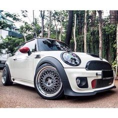 #MINI. I don't know if I could ever really drive such a small car but it's cute