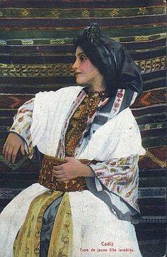 Стена | ВКонтакте  еврейка из Алжира, начало XX в.