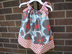 Betsy pillowcase dress pattern. Love this.