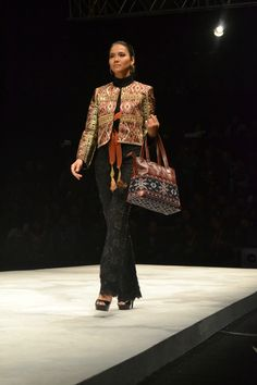 Defrico Audi collection on Panutan Ragam Nusantara, presented by Warnatasku
