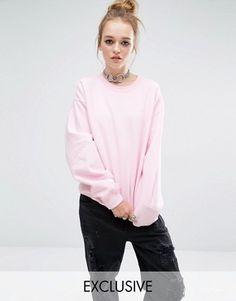 Reclaimed Vintage Oversized Boyfriend Sweatshirt