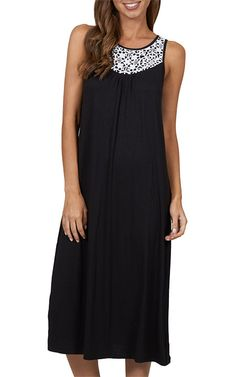 Edgy sophistication defines this maxi dress with fashionable high neck design. #JETSSwimwear