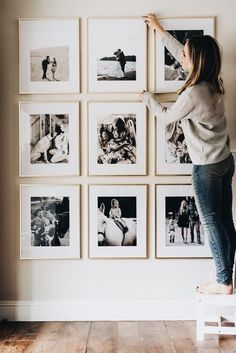 Framed photo grid