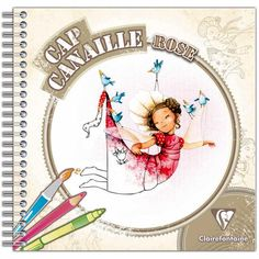 Cahier de coloriage Cap Canaille Rose Autour du monde - 80 pages - Photo n°1
