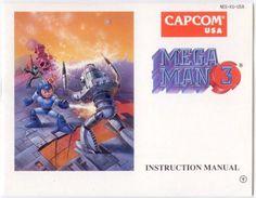 Mega Man 3 - NES Manual