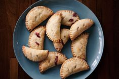 Tart Cherry Hand Pies - No, it's no longer National Cherry Month (that was February), but these were irresistible.    http://mattbites.com/2012/02/27/tart-cherry-hand-pies/
