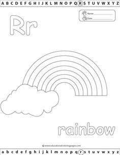 Alphabet Coloring Pages Set 2 | Coloring Pages