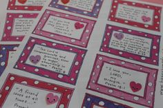 bible verse valentine countdown cards