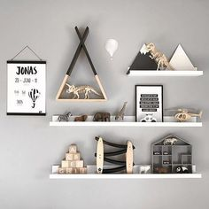 Best Wall Design Ideas and Decor for Inspiration - Baby Room Decor, Nursery Room, Nursery Decor, Wall Decor, Kids Bedroom Accessories, Monochrome Nursery, Baby Boy Rooms, Cool Walls, Wall Design