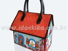A bolsa que é uma casa - Ateliê Ida e Kika  / handbag