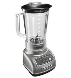 The KitchenAid Classic 5-Speed Blender, offers exceptional performance while maintaining enduring design. Additionally, Intelli-Speed Motor Control senses contents and maintains optimal speed to power through all ingredients.  - http://kitchen-dining.bestselleroutlet.net/product-review-for-kitchenaid-ksb1570sl-5-speed-blender-with-56-ounce-bpa-free-pitcher-silver/