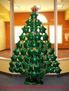 Ballondeco Kerstmis on Pinterest | Balloon Tree, Balloon ...