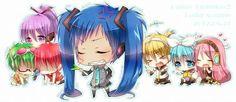 Kiseki no Sedai {Vocaloid Cosplay} - Kuroko's basket fan Art