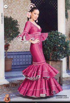 Flamenco dress. Emperatriz