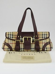 This adorable Burberry Haymarket Check Coated Canvas Small Shoulder Bag is  perfect for carrying your girly 699df8030f426