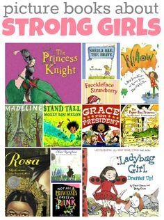 Picture Books About Strong Girls Picture books with strong female characters. So important for little girls and little boys to read.Picture books with strong female characters. So important for little girls and little boys to read. Books To Read, My Books, Strong Female Characters, Kids Reading, Reading Lists, Reading Resources, Reading Projects, Parent Resources, Reading Nook