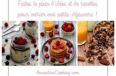 Faites le plein d'idées recettes pour le petit-déjeuner ! Panna Cotta, Oatmeal, Pudding, Healthy Recipes, Breakfast, Ethnic Recipes, Desserts, Food, Voici