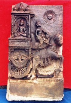 Surya On Chariot With Arunahttp://www.jnanapravaha.org/explore-varanasi-detail.php?gal_id=17&txtsearch=&page=2