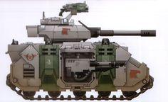 Predator space marine Mentor Legion W40k
