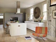 kitchen home sociable family living