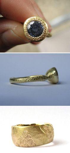 beautiful rings by katherine bowman Contemporary Jewellery, Modern Jewelry, Metal Jewelry, Jewelry Art, Jewelry Rings, Silver Jewelry, Jewelry Ideas, Jewelry Design Earrings, Beautiful Rings