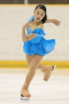 白岩優奈 中2 SPオーバーザレインボウ 全日本ジュニア・初日(男女SP)|フォトギャラリー|フィギュアスケート|スポーツナビ