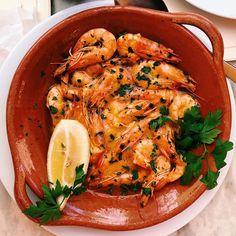 . . 50 shades of shrimp # # #foodporn .