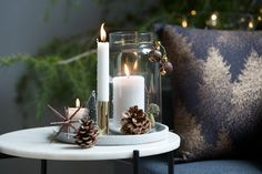 Αστέρι ASLAUG Ø12xΥ8cm διάφορα Christmas Deco, Tea Lights, Candles, Spaces, Table Decorations, Home Decor, Christmas Decor, Decoration Home, Room Decor