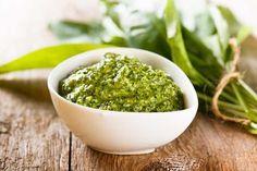 Aromatisches herrliches Bärlauch-Pesto
