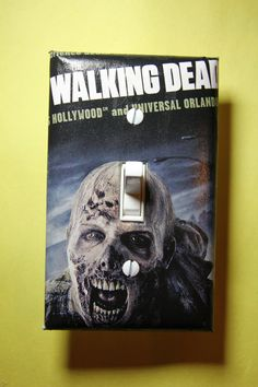 The Walking Dead Light Switch Plate Cover comic by ComicRecycled
