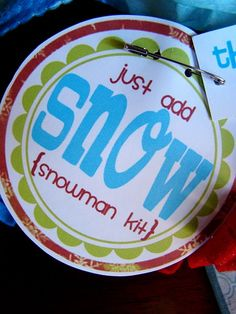 Make Snowman kits!