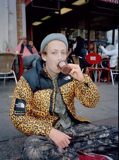 Supreme x The North Face leopard print jacket. Size: M. Ski Fashion, Urban Fashion, Mens Fashion, Tyrone Lebon, Leopard Print Jacket, Leopard Coat, Fashion Gallery, Perfect Man, North Face Jacket