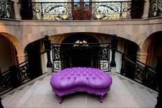 Modern Colorful Victorian Style Furniture Collection By POLaRT Design – 33 – Ottoman Victorian Style Furniture, French Sofa, Tufted Ottoman, All Things Purple, French Provincial, Furniture Collection, Victorian Fashion, Decorative Items, The Incredibles