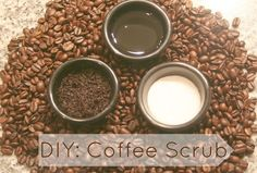 DIY Coffee Scrub  #homemade #beauty #recipes