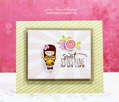 Papell with Love: Mama Elephant Stamp Highlight - My Sunshine