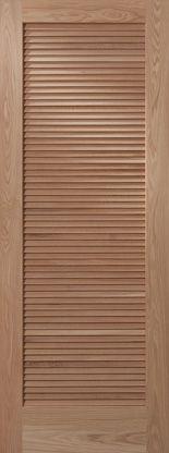 1+Louver | Woodport Doors