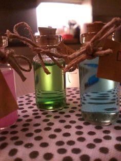 Drie flessen