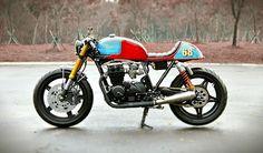1981 Honda CB650 'The Tricore' - Studio Motor - Inazuma Cafe Racer