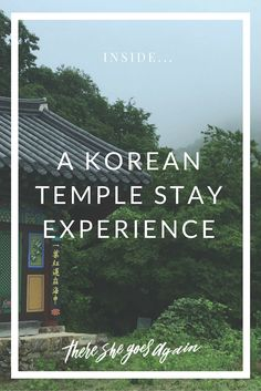 Here's what exactly what happens when you sign-up to experience a Korean monk's life via one of the many temple stay programs offered around the country. via @There She Goes Again | Travel