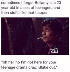 """""""Blake out"""" lolololol"""