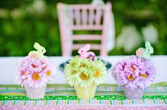 #Easter Table Centerpiece