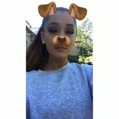 February 11: Ariana via Snapchat.
