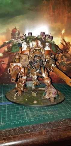 Death Guard Knight Nurgle Quarantine Miniatures Knight, Creepy, Fair Grounds, Death, Miniatures, Travel, Viajes, Mini Things, Trips
