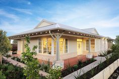 Builders of single and double storey homes, town houses and medium density housing in Victoria, South Australia, New South Wales and Queensland. Simonds Homes, Storey Homes, 4 Bedroom House, Home Builders, House Colors, Bungalow, Townhouse, New Homes, Exterior