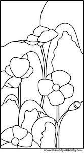 Image result for poppy mosaic pattern