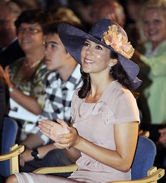 Princess Mary attended Daens Wordwide 's annual meeting at Kronborg Castle in Helsingör 2 August: Prince Joachim and Princess Marie attend Copenhagen Historic Grand Prix in Faelledparken p…