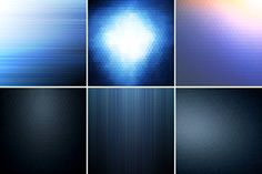 Blue abstract backgrounds. Graphics Collection of blue abstract backgrounds. First 4 backgrounds are handmade and doesn't contain gradi by ExpressShop